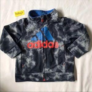 NWOT 6M Adidas baby's 6 Months sweater full zip